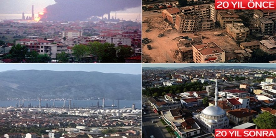 Marmara Depremi'nin Üzerinden 20 Yıl Geçti