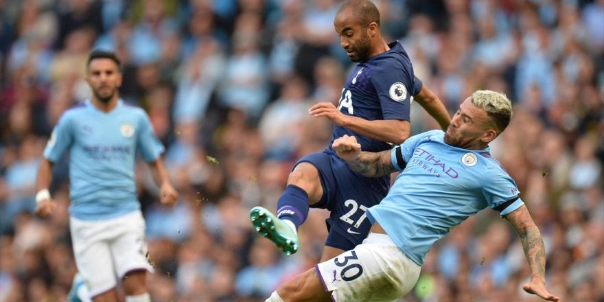 Manchester City İle Tottenham Yenişemedi