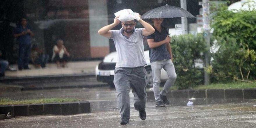 Meteoroloji'den Kuvvetli Sağanak Yağış Uyarısı Yapıldı