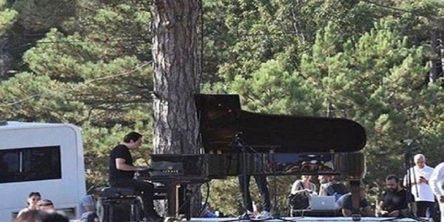 Fazıl Say'dan Kaz Dağları'nda Konser: Ekosistem Katlediliyor