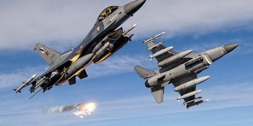 Kuzey Irak'a Hava Harekâtı! 5 Terörist Yok Edildi