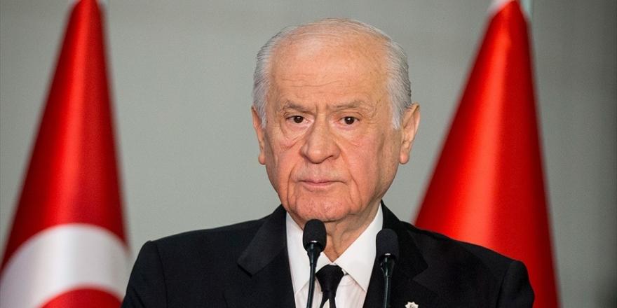 Mhp Genel Başkanı Bahçeli: Kıran Operasyonu Sayesinde Terörün Köküne Kıran Girecek