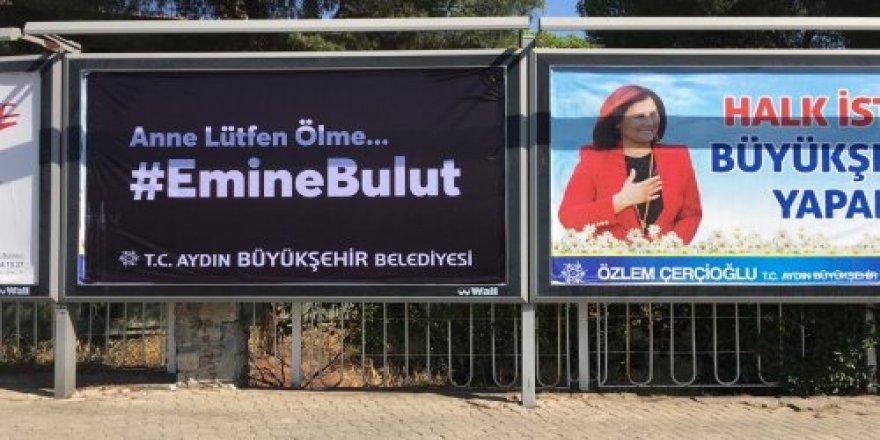 Aydın Büyükşehir Belediyesi'nden Emine Bulut tepkisi!