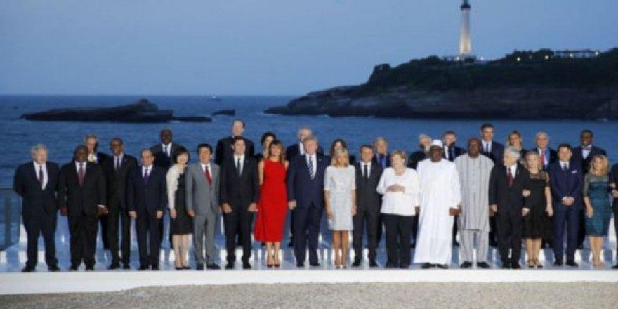 G7 Zirvesi Sona Erdi