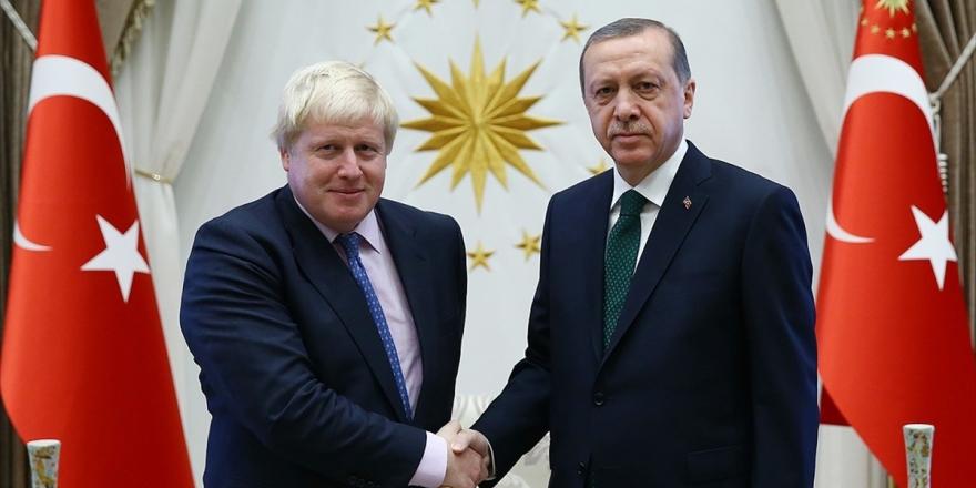 Cumhurbaşkanı Erdoğan İle Boris Johnson Telefonda Görüştü