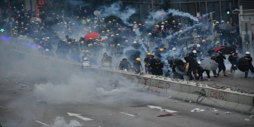 Çin Askerleri Hong Kong'da