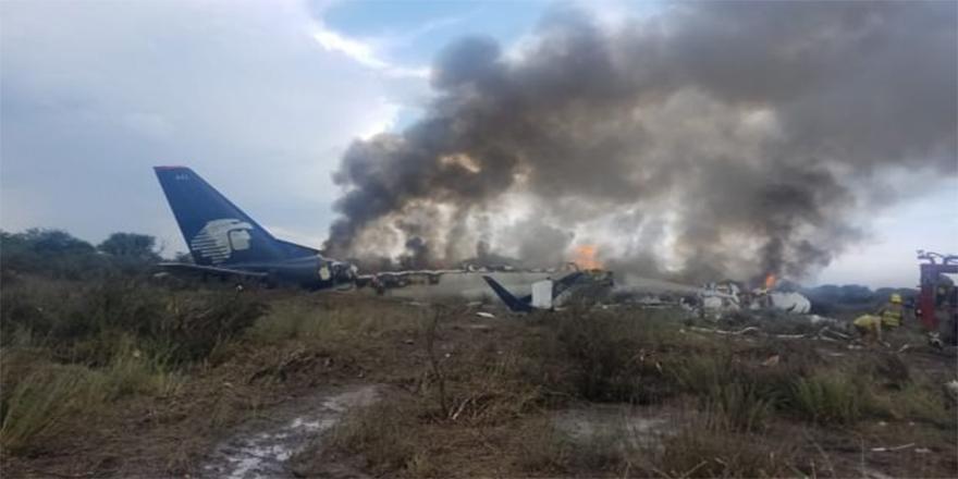 Uçak kazasında inanılmaz olay: 101 yolcunun tamamı yaralı kurtuldu