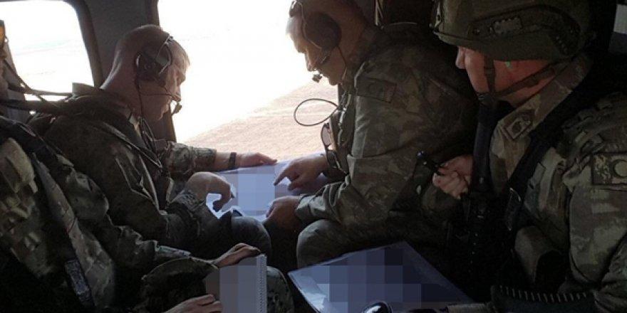Fırat'ın Doğusunda Türkiye İle ABD'den İkinci Ortak Helikopter Uçuşu