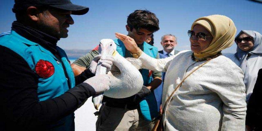 Emine Erdoğan: Salda Gölü'nü Görünce Çok Mutmain Oldum