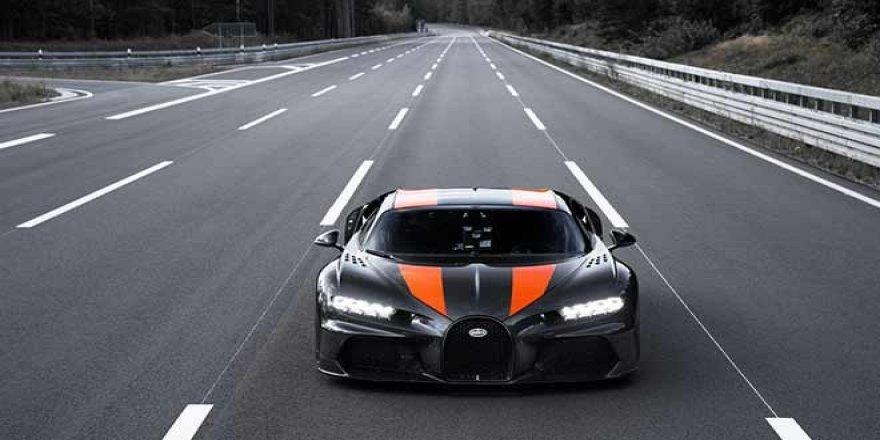 Bugatti Chiron Saatte 490 Kilometre Hızı Aşarak Yeni Bir Dünya Rekoru Kırdı