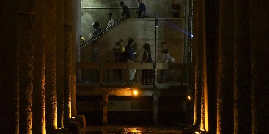 Görkemli Sütunları, Gizemli Heykelleriyle Yerebatan Sarnıcı