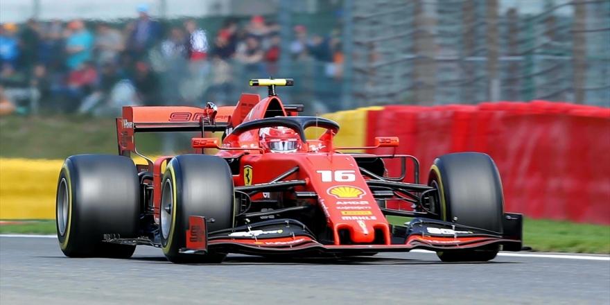 İtalya'da Pole Pozisyonu Leclerc'in