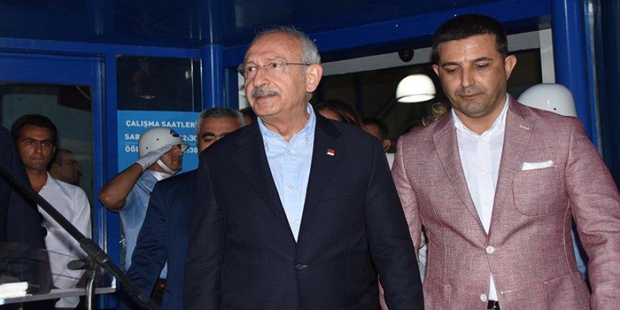 Kemal Kılıçdaroğlu'na yumurtalı saldırı
