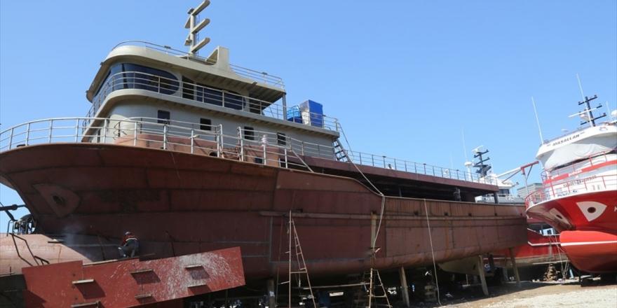 Moritanya Ve Gürcistan'ın Balıkçı Gemileri Ordu'dan