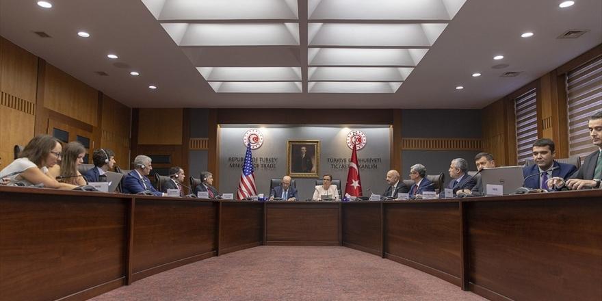 Ticaret Bakanı Pekcan: ABD İle Öncelikli Sektörleri Belirledik
