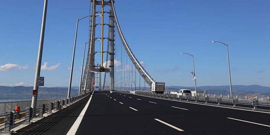 Osmangazi Köprüsü'nden Garanti Edilenin Yarısı Kadar Araç Geçti