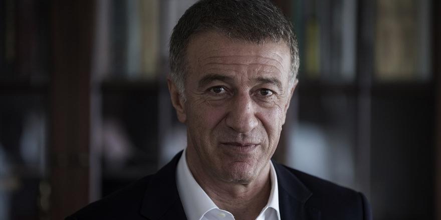 Trabzonspor Kulübü Başkanı Ağaoğlu: Dileğimiz Başarı Merdivenlerini Tırmanmak