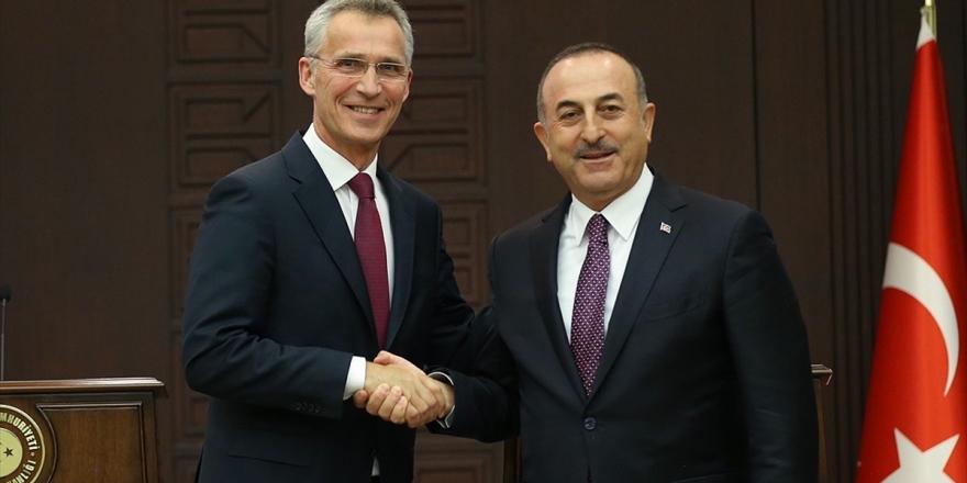 Çavuşoğlu Nato Genel Sekreteri Stoltenberg İle Telefonda Görüştü