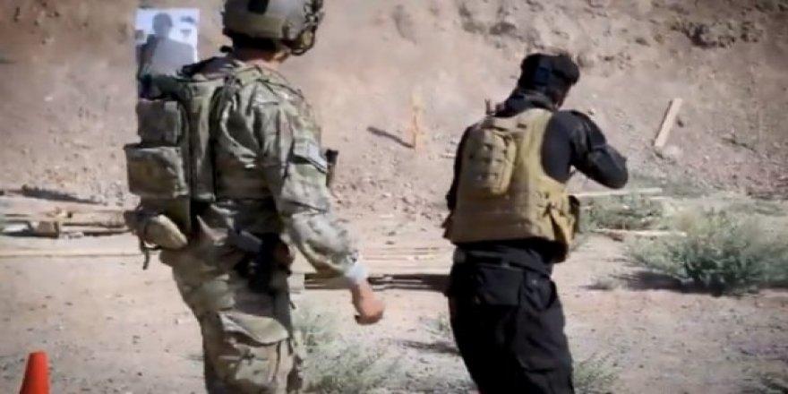 ABD Askerinin YPG'lilere Eğitim Verdiği Görüntüler