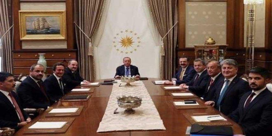 İnan Kıraç Yok! Erdoğan, Türkiye'nin Otomobili Girişim Grubu Temsilcilerini Kabul Etti