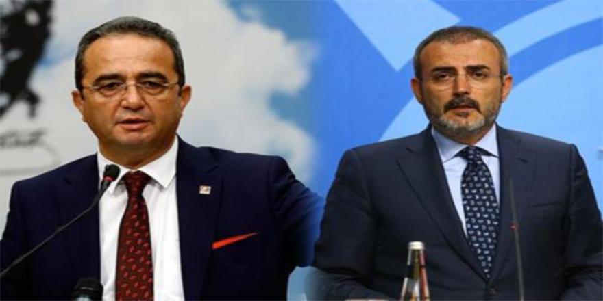 AK Parti ve CHP sözcüleri sosyal medyada kapıştı