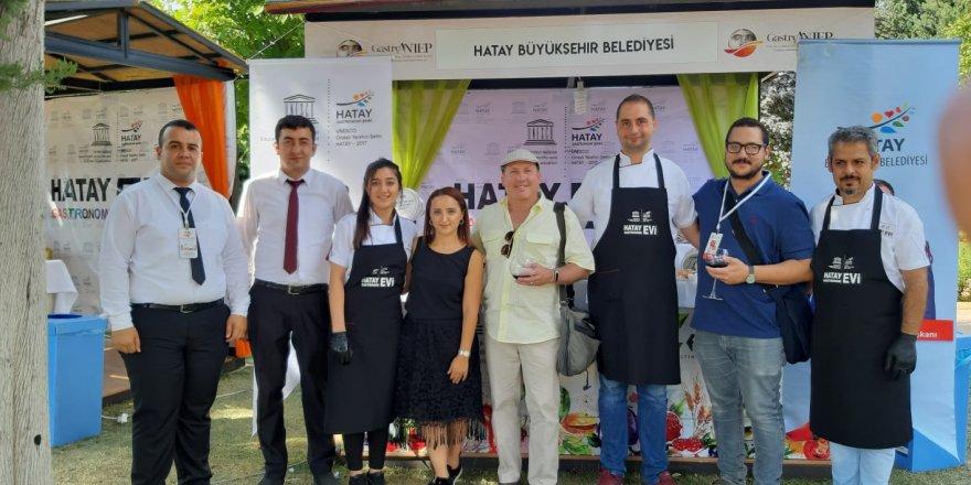 Gastrofestival Antep'de UNESCO HATAY GASTRONOMİ EVİ STANDI