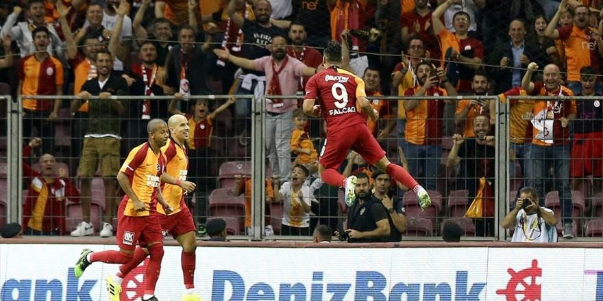 Falcao İlk Maçında Golünü Attı Galatasaray Kazandı