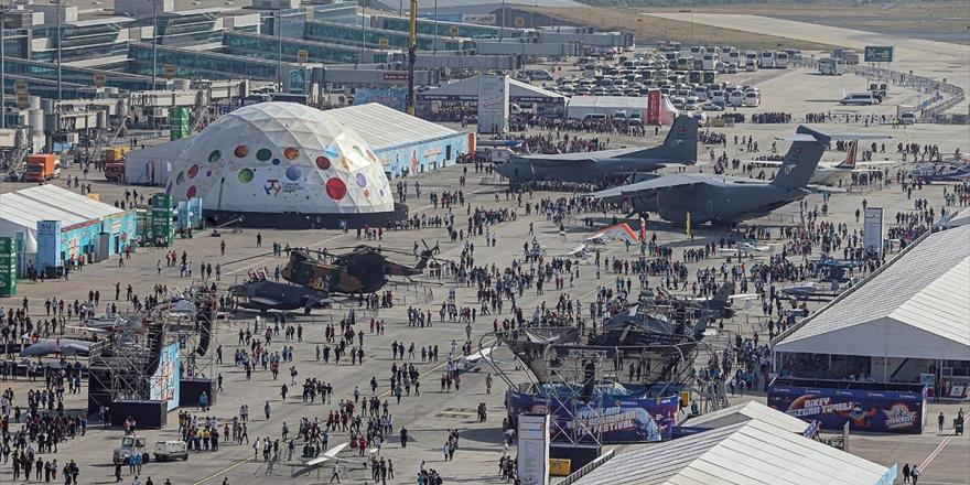Teknofest İstanbul İkinci Gününde Devam Ediyor