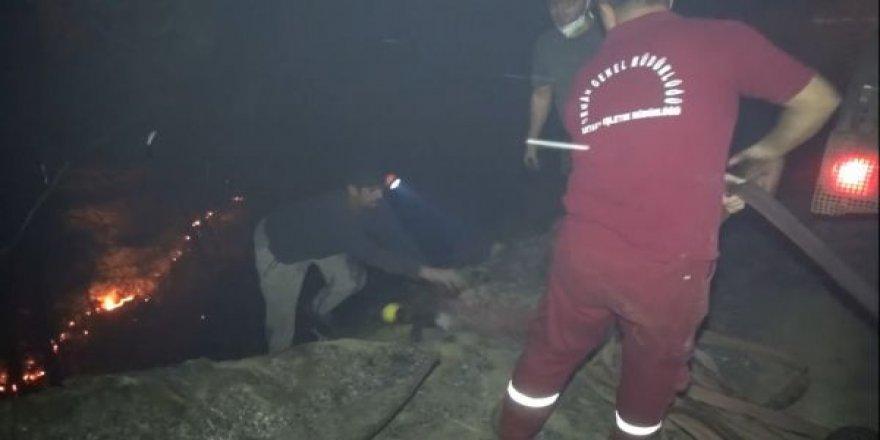 Hatay'da 25 Noktada Orman Yangını