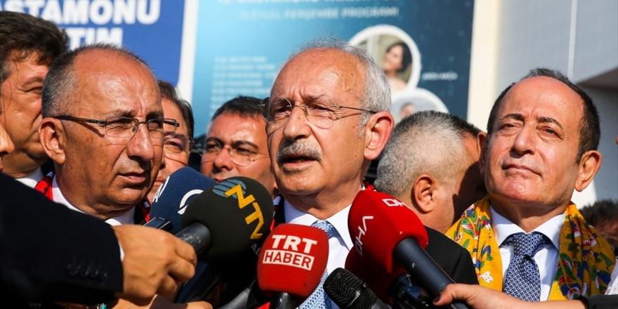 CHP Genel Başkanı Kılıçdaroğlu: Adalet Bakanlığının Tamince İtirazı Önemli Bir Aşama