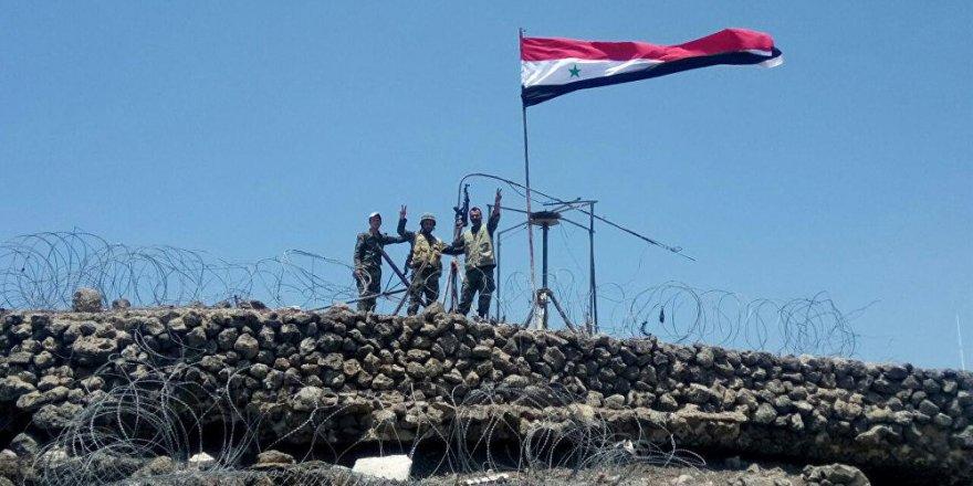 Suriye Ordusu Misket Bombaları Taşıyan Bir İHA'yı Düşürdü