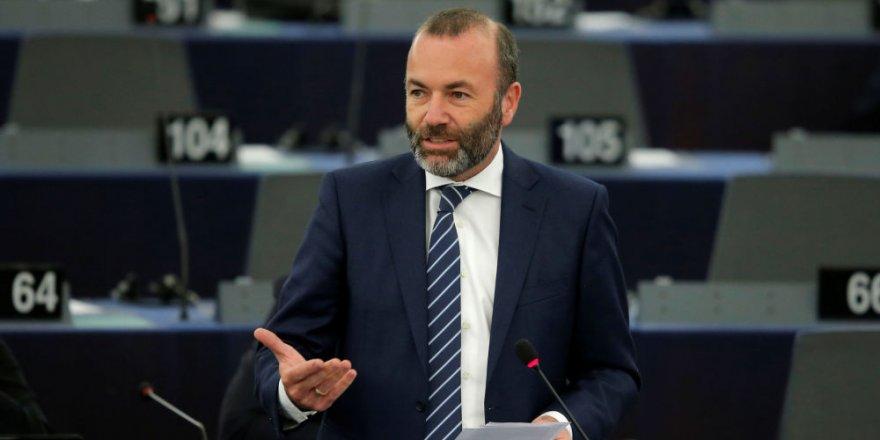 Alman Siyasetçi Weber'den Erdoğan'a: Şantajı Kabul Edemeyiz
