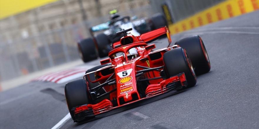 Vettel'den Sezonun İlk Zaferi