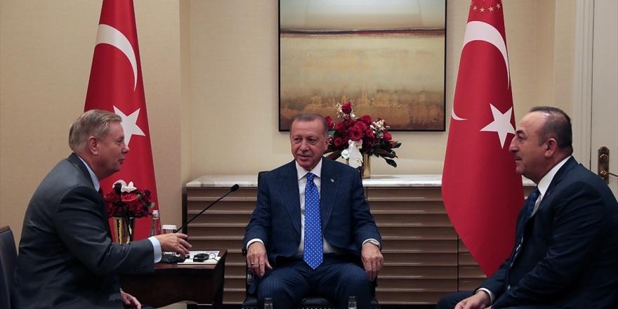 Cumhurbaşkanı Erdoğan Abd Senatörü Graham'ı Kabul Etti