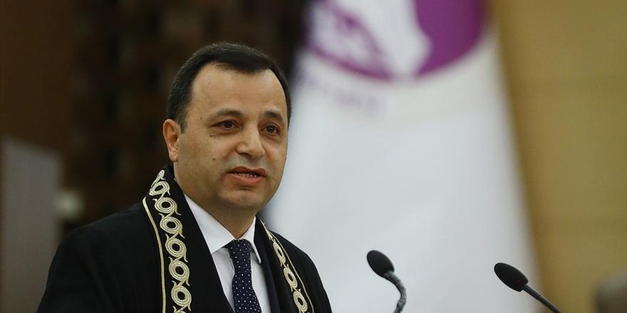 Aym Başkanı Arslan: Aihm'e Türkiye Aleyhine Başvuru 7 Yılda Yüzde 50 Azaldı