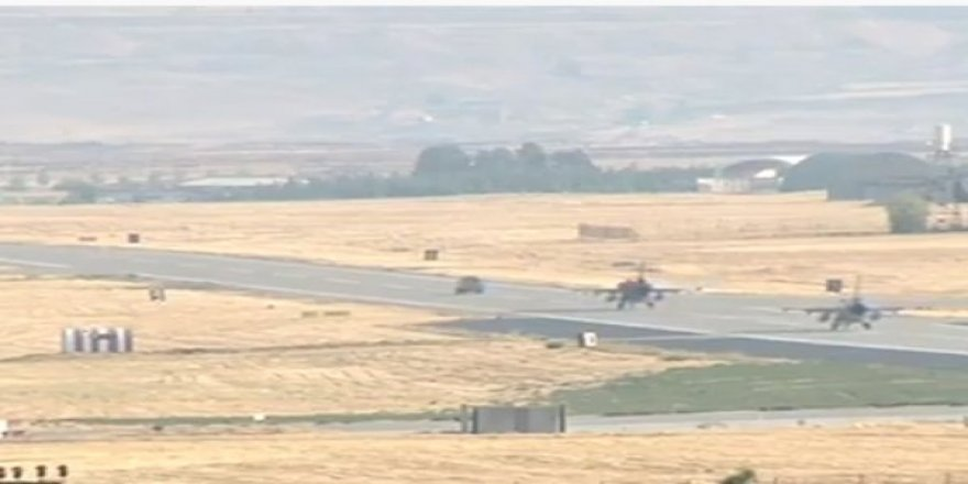 Jetler Diyarbakır'dan Barış Pınarı İçin Havalanıyor