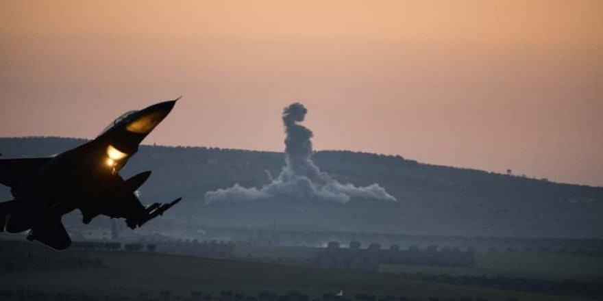 Türk Savaş Uçakları YPG'ye Bomba Yağdırıyor