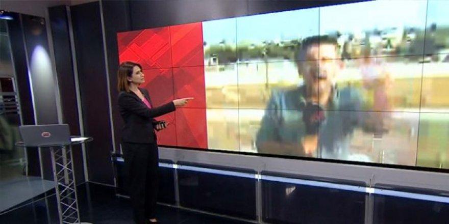 CNN TÜRK Muhabirinin Bombalama Anındaki Heyecanı