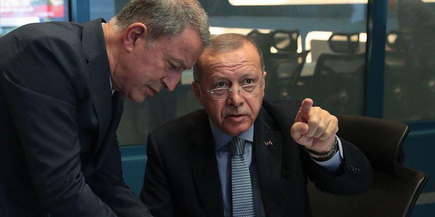 Cumhurbaşkanı Erdoğan Başkanlığında Barış Pınarı Harekâtı Koordinasyon Toplantısı Yapıldı