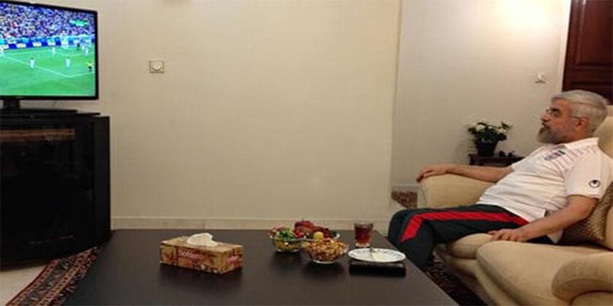 İran Cumhurbaşkanı milli takımı böyle izledi