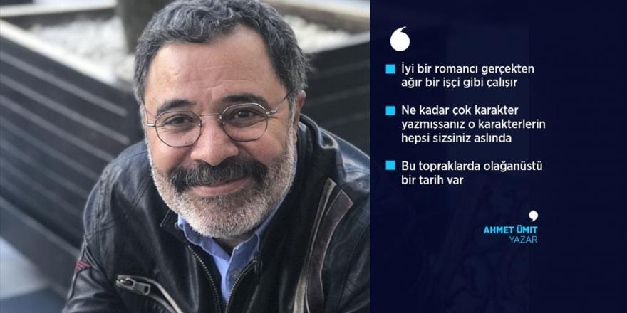 Ahmet Ümit: 'İyi Bir Romancı Gerçekten Ağır Bir İşçi Gibi Çalışır'