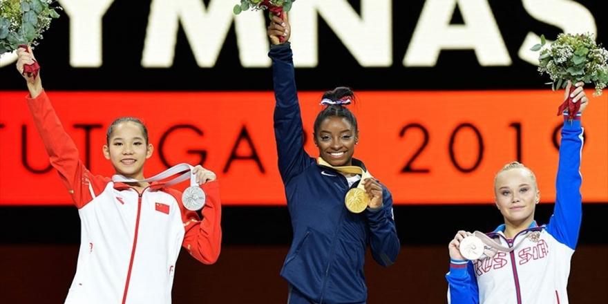 Simone Biles'ten Büyük Başarı