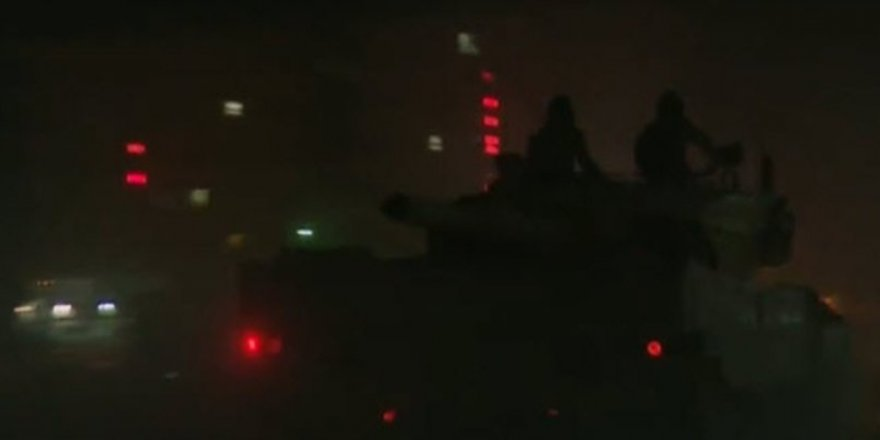 Türk Tankları Tel Abyad'a Girdi