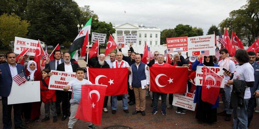 ABD'deki Türklerden Barış Pınarı Harekatı'na Destek Gösterisi