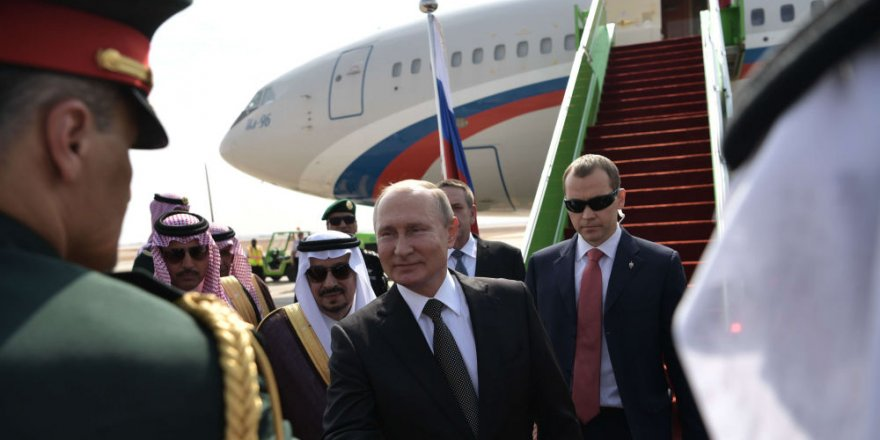 Putin Suudi Arabistan'da