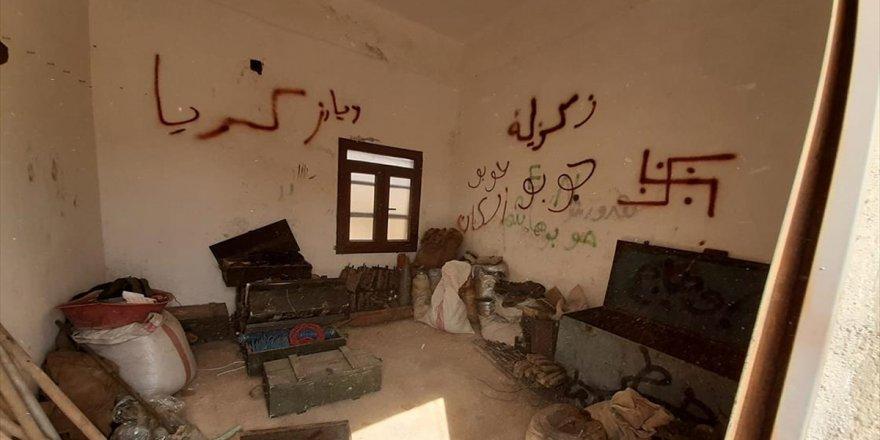 Tel Abyad ve Çevresindeki Operasyonlarda Çok Sayıda Mühimmat Ele Geçirildi
