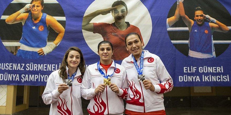 Dünya Şampiyonu Milli Boksör Busenaz: Olimpiyat Kotası Kesmez, Madalya Lazım