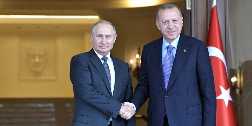 Cumhurbaşkanı Erdoğan, 22 Ekim'de Putin ile görüşecek