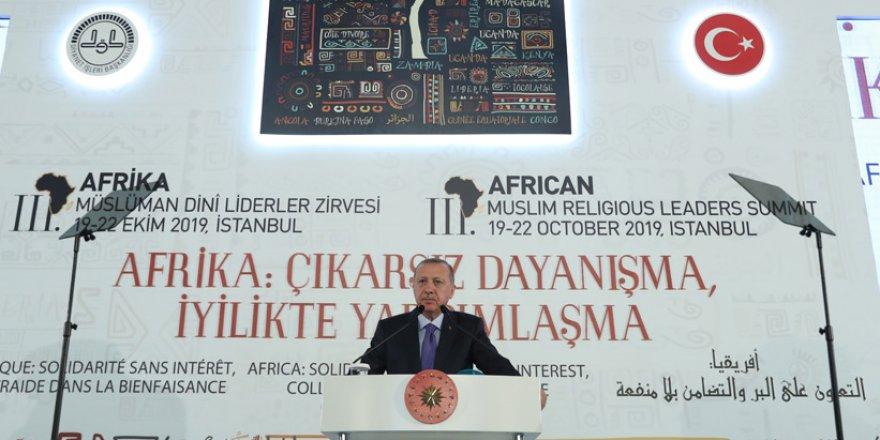 Erdoğan, Dini Liderler Zirvesinden Dünya'ya Mesaj Verdi