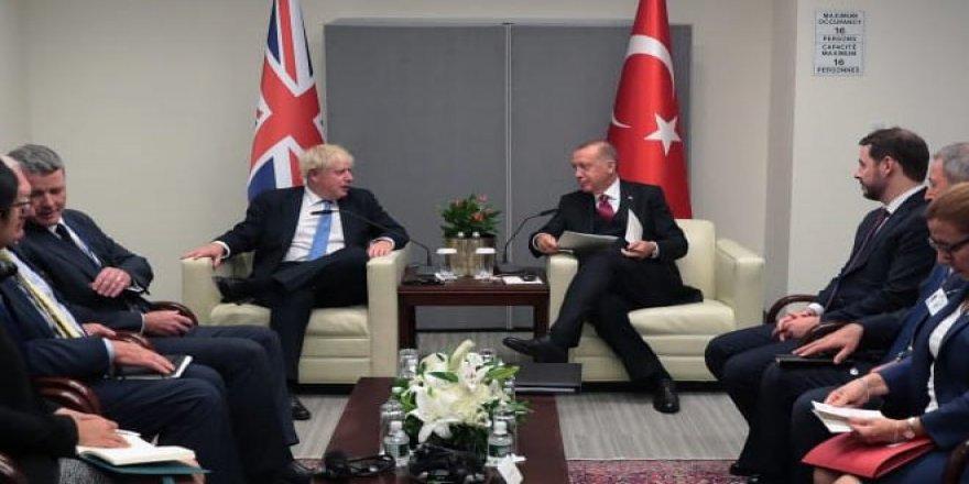 Erdoğan ve Johnson Telefonda Anlaşmayı Konuştu
